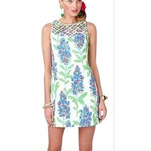 Lilly Pulitzer Ricci Fresh Cut Bluebonnets Dress